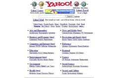 Yahoo, en 1998.