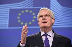 Michel Barnier à la Commission européenne. AFP PHOTO / JOHN THYS