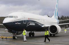 Lors d'un vol d'essai du Boeing 737 MAX. La firme américain a financé cette étude sur l'emploi.