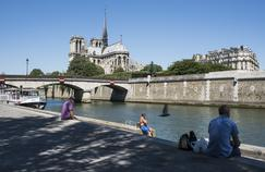 Paris est particulièrement touchée par la désaffection des touristes.