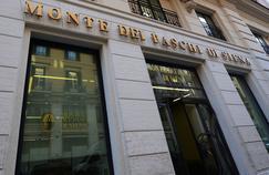 Une agence de la Banca Monte dei Paschi di Siena, à Rome.