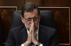Mariano Rajoy, lors d'un congrès au Parlement à Madrid, le 19 juillet.