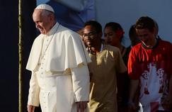 Le pape participait samedi à «la grande veillée», point d'orgue des Journées mondiales de la jeunesse.
