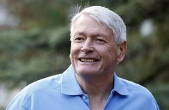 John Malone, en juillet 2012, dans l'Idaho.