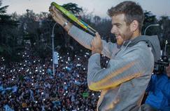 Juan Martin Del Porto a été acclamé dans sa ville natale de Tandil, en Argentine.