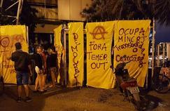 """Le mouvement Ocupa MinC a réhabilité une ancienne salle de concert, l'espace Canecão, rebaptisé depuis """"Maison de la Démocratie""""."""