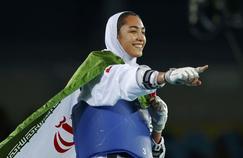 Kimia Alizadeh, 18 ans, est la première Iranienne de l'histoire à remporter