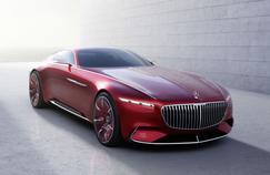 Un long coupé pour suggérer que Mercedes-Maybach pourrait un jour développer ses propres modèles.