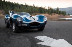 La Type D de la vente RM Sotheby's a remporté le Mans en 1956.