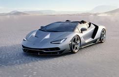 La Centenario roadster est 50 kilos plus lourde que le coupé présenté à Genève.