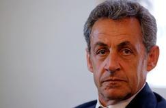Le candidat à la primaire de la droite, Nicolas Sarkozy