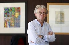 Jean-Claude Mailly dans son bureau de FO, à Paris, le 23 août 2016.