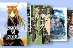 La collection de Light Novel de l'éditeur spécialisé Ofelbe.