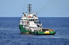 Le Bourbon Argos patrouille en mer Méditerranée en mai 2015.