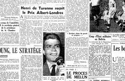 La Une du Figaro du 17 mai 1951.