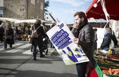 Budget participatif: marché Sainte-Thérèse à Rennes.