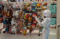 Le robot Pepper animera le magasin Kiabi de Val d'Europe. Crédit photo: Kiabi.