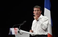 Manuel Valls, lors du meeting de rentrée de la majorité à Colomiers, près de Toulouse.
