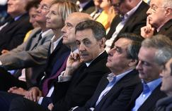 Juppé, sarkozy, Fillon et Le Maire en septembre 2015.