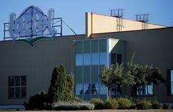 La laiterie Lactel (groupe Lactalis), à Laval dans la Mayenne.