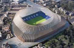 Une projection 3D du futur stade de Chelsea qui pourrait être livré en 2020.