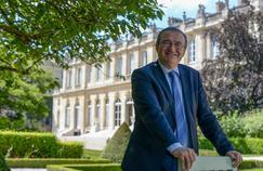 Hervé Mariton, le 6 juillet, dans les jardins de l'Assemblée nationale.
