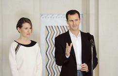 Le président syrien Bachar el-Assad et sa femme Asma
