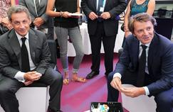 Nicolas Sarkozy et François Baroin, mardi, à la foire agricole de Châlons-en-Champagne.