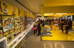 Le magasin Lego du Forum des Halles