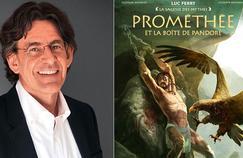 Le philosophe Luc Ferry lance une nouvelle collection de bandes dessinées consacrée à la mythologie grecque, La sagesse des mythes, chez Glénat.