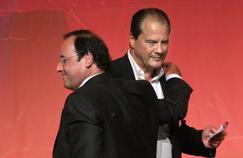 François Hollande et Jean-Christophe Cambadélis en septembre 2007
