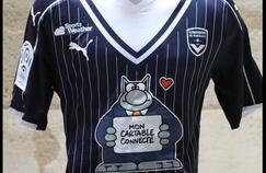Le maillot des Girondins contre Angers.