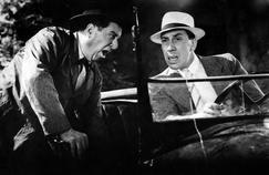 Raimu (à gauche) et Fernandel dans le film 'La fille du puisatier' de Marcel Pagnol, produit en 1940.