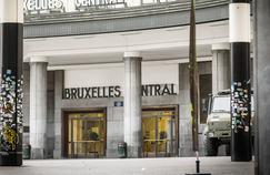 Le métro de Bruxelles.