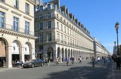 La rue de Rivoli sans voiture (Paris Ier).