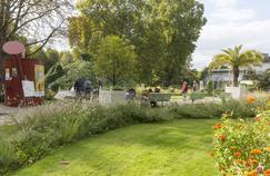 Le Parc de Bercy (XIIe), l'un des plus de 100 espaces verts de Paris et d'Ile-de-France à accueillir la 20e Fête des Jardins.