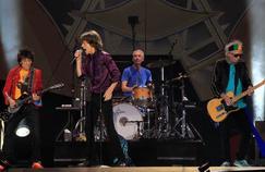 Les Rolling Stones ici lors de leur concert au Stade de France donné en 2014
