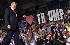 Donald Trump en Floride, le 19 septembre dernier.
