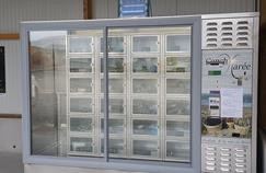Le distributeur installé est prévu pour accueillir jusqu'à 30 compartiments