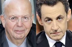 Patrick Buisson et Nicolas Sarkozy.