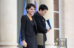 «À ceux qui doutaient des 60 000 postes (promis par François Hollande. NDLR) ils verront que c'est fait», a martelé Najat Vallaud-Belkacem.