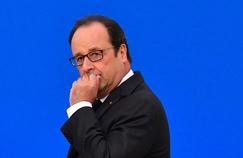 Le président François Hollande.