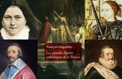 Thérèse de Lisieux, le cardinal de Richelieu, Jeanne d'Arc, Henri IV.