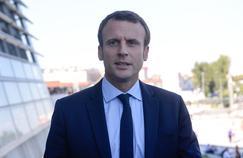 Emmanuel Macron à Lyon, le 24 septembre 2016.