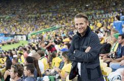 Le PDG d'Omega, Raynald Aeschlimann, lors des JO de Rio dont l'horloger est le chronométreur officiel jusqu'en 2020.