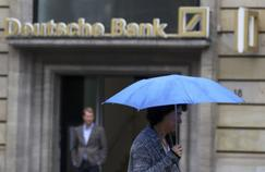 Deutsche Bank à Francfort.