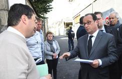 François Hollande à Brive-la-Gaillarde ce samedi.