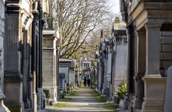 Le cimetière Montmartre, à Paris.