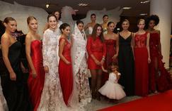 Le Benfica Lisbonne a lancé des robes de mariée aux couleurs du club.