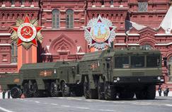 Des missiles balistiques «Iskander» qui pourraient être déployés dans l'enclave russe de Kaliningrad en réaction à l'installation du bouclier antimissile de l'OTAN en Pologne et en Roumanie.